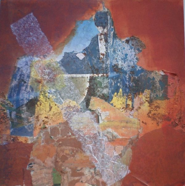 Stratification II<br>Technique mixte<br>50 x 50 cm, Tunis, 2003