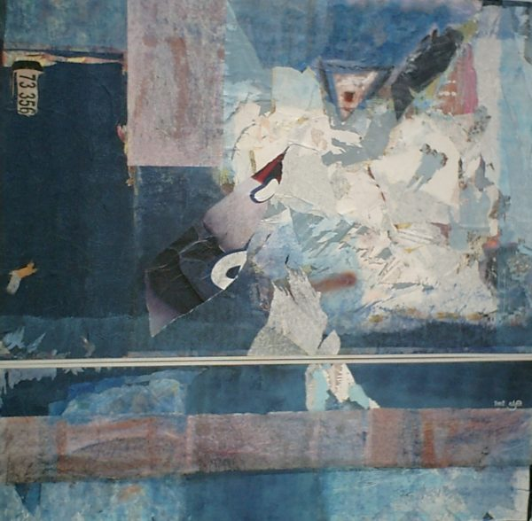 Cri<br>Technique mixte<br>130 x 140 cm, Tunis, 2002